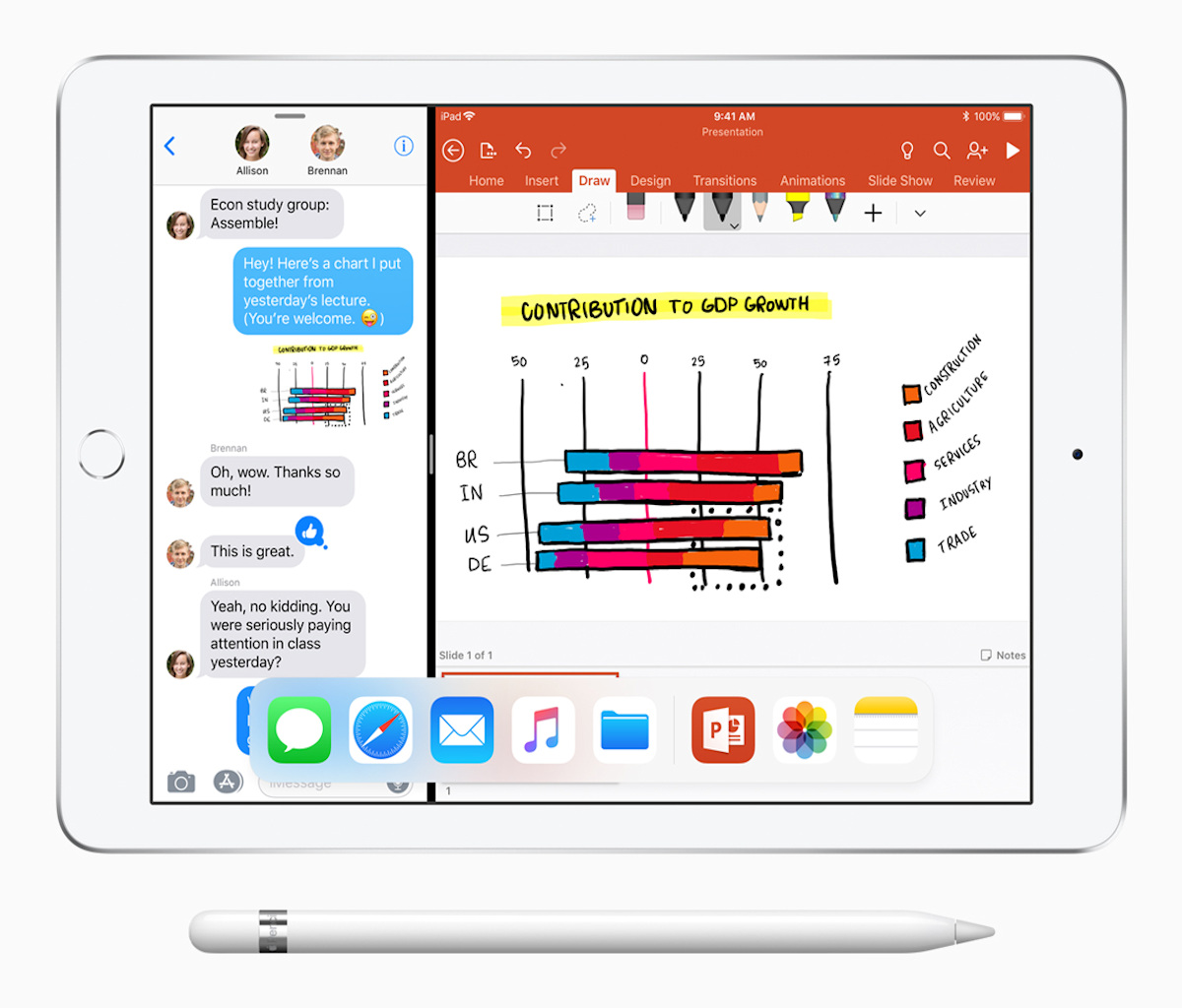 iPad 6th gen split screen