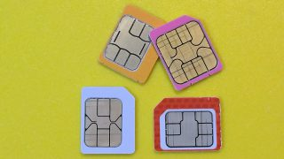 SIM cards personal device