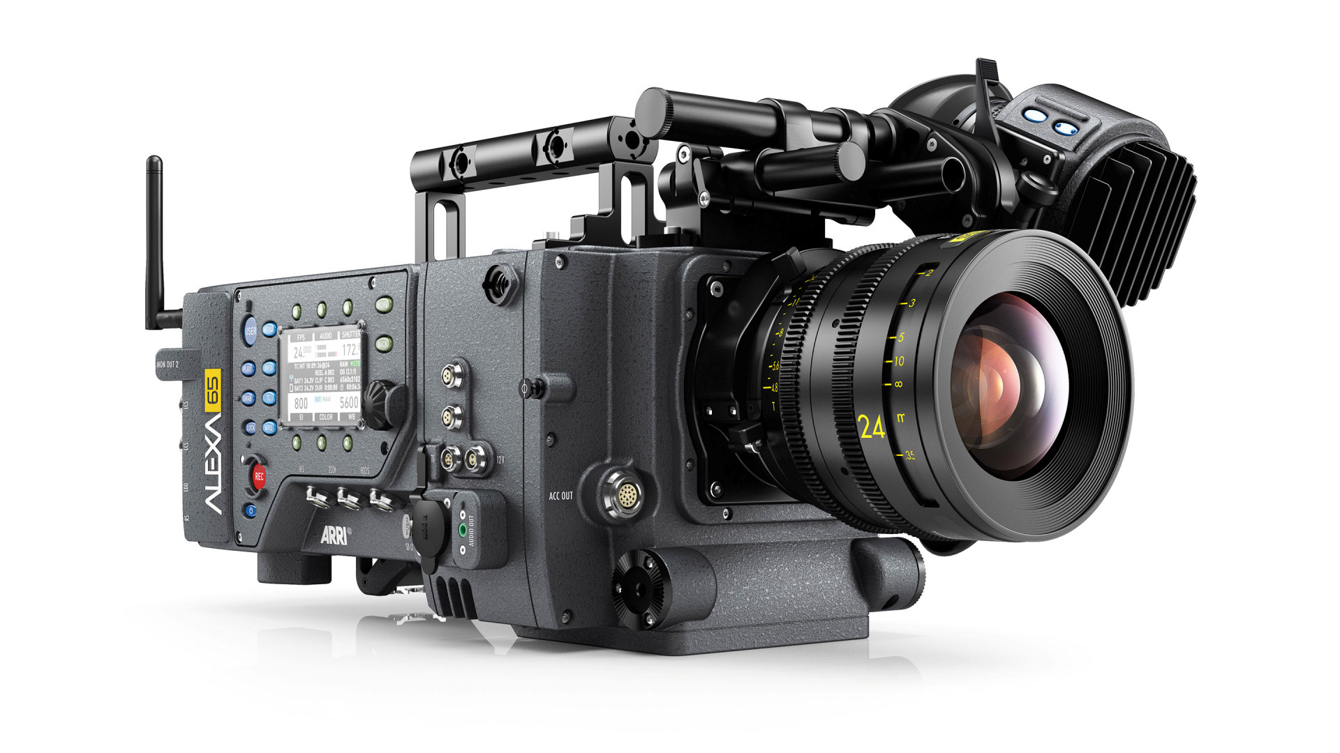 6Kシネマカメラ alexa 65