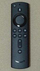fire tv stick 4K アレクサ音声認識対応リモコン