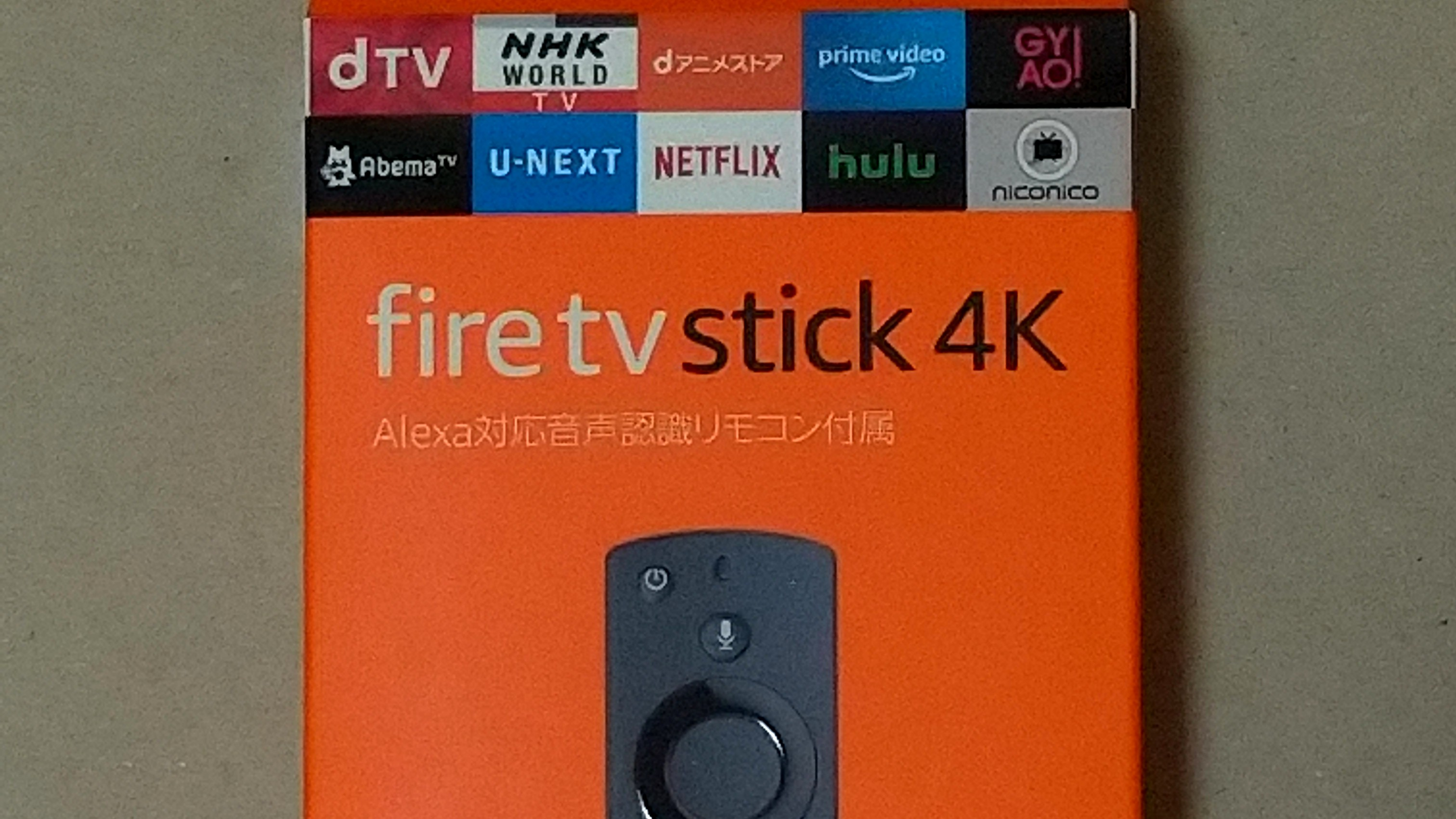 fire stick tv 4K 端末 本体