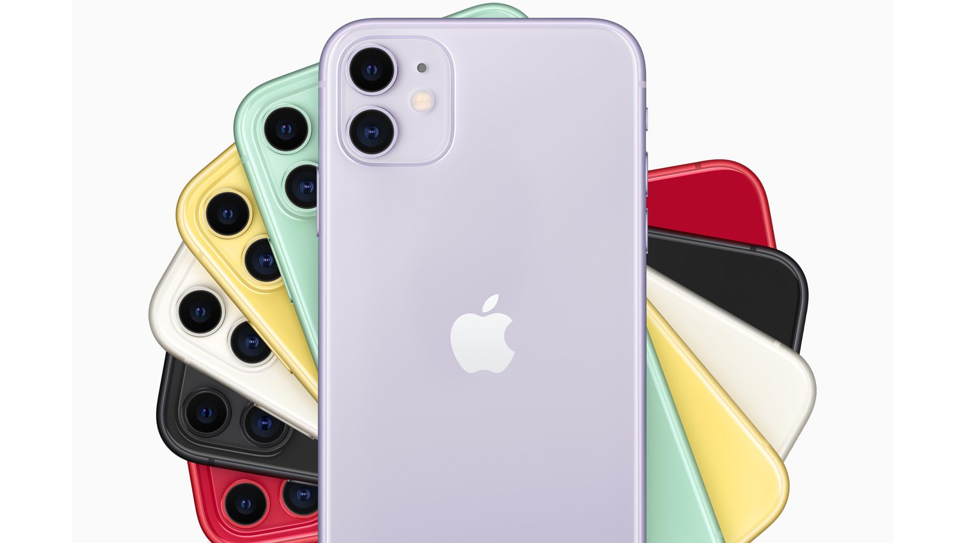 普及モデルのiPhone 11も2眼カメラに