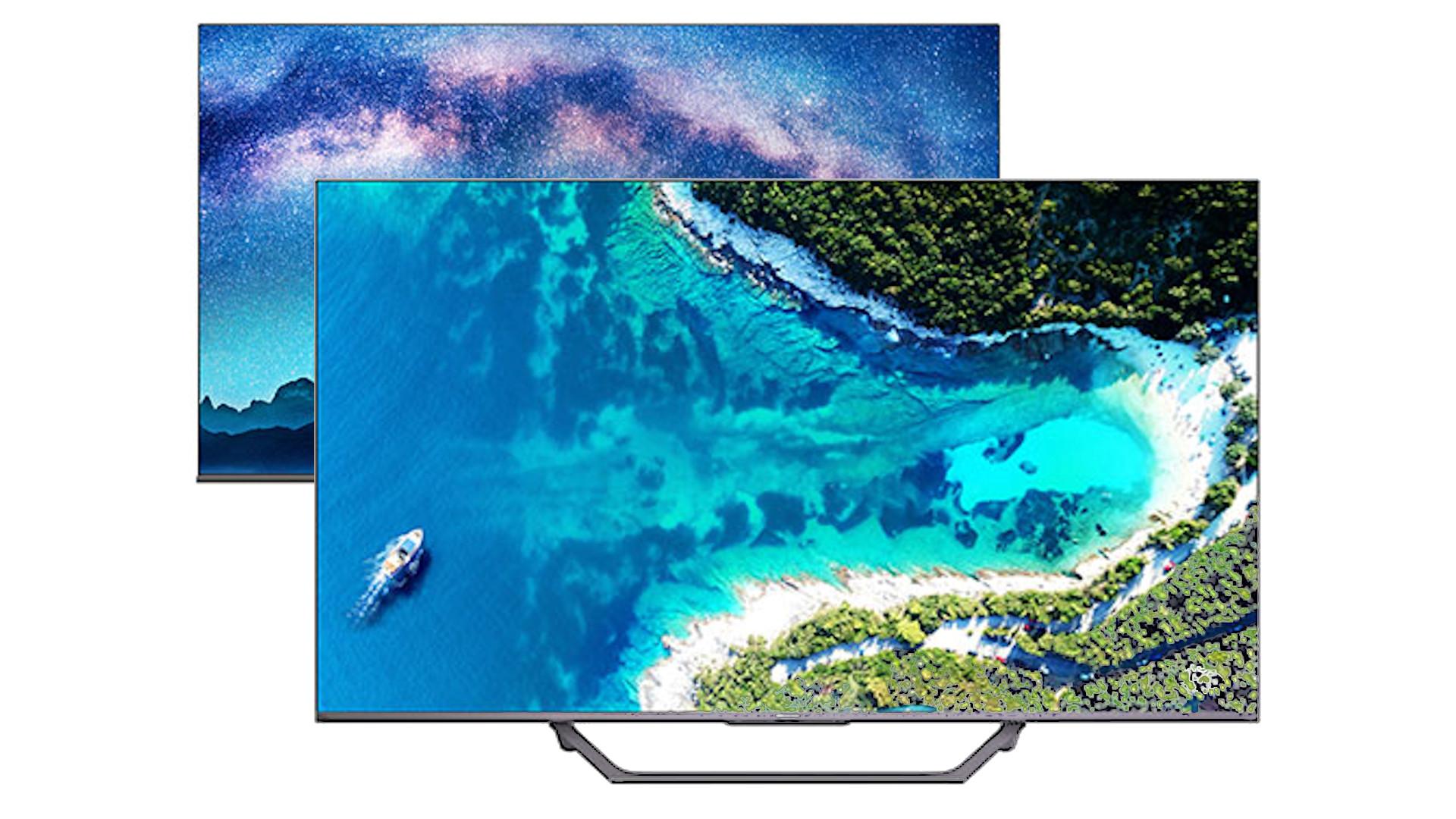 ハイセンスが4Kチューナー内蔵TVのU8F, U7Fを発売