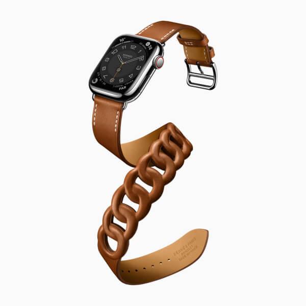 Apple Watch Series 7 コラボレーション エルメス モデル グルメット・ドゥブルトゥール
