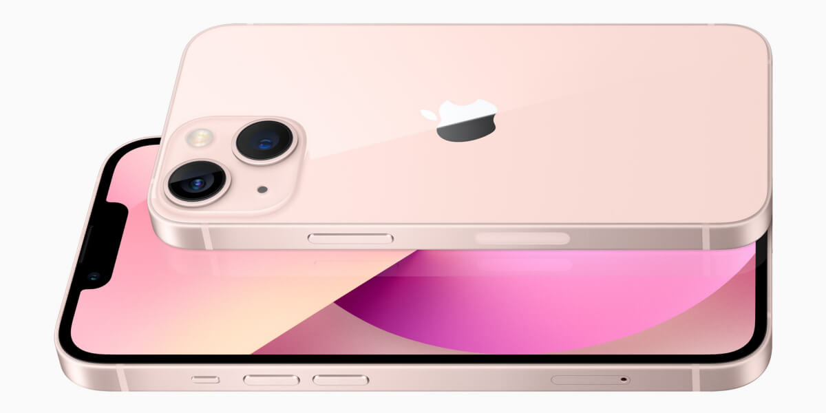 iPhone13とiPhone13miniのサイズを比較